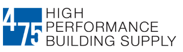 475 High Performance Building Supply프로모션 코드