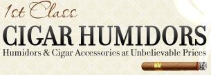 1st Class Cigar Humidors Promo Codes