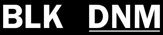 BLK DNM Promo Codes