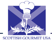 Scottish Gourmet USA Códigos promocionales